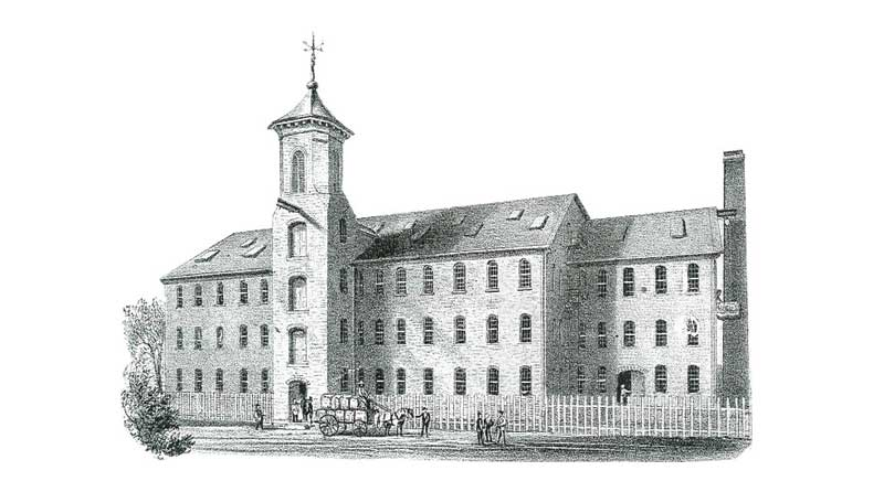 Cutler Mill Original Drawing